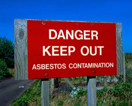 Asbestos-keep-out
