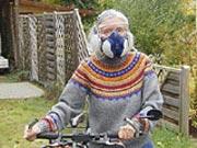 Frau mit Schutzmaske, MCS - Multiple