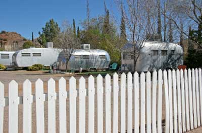 Airstream Trailer in Texas