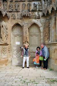 Dom in Trier mit Prof. Kim, Dr. Binz