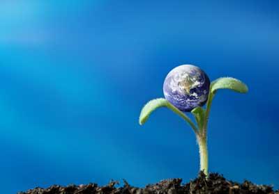 Empfindlicher Planet