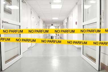 Krankenhaus ohne Duftstoffe