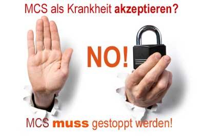 MCS - Eine Krankheit die es nicht geben darf