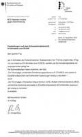 Bundesministerium für Arbeit und Soziales in Bezug auf MCS