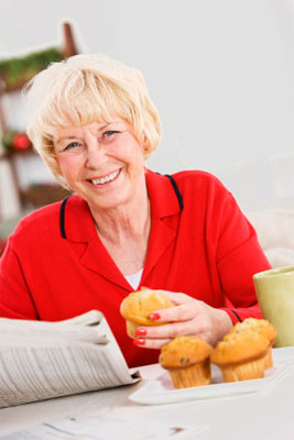 Ottlie liebt Muffins über alles