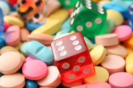 Pillen, Tabletten oft Glückspiel