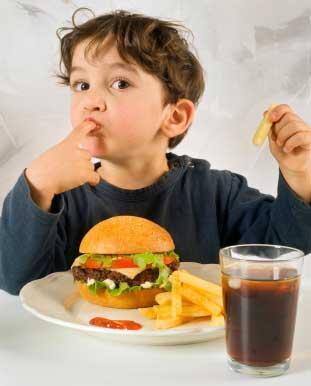 Fast Food ist nicht gesund