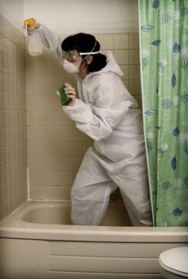 Putzfimmel kann krank machen
