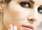 Akupressurpunkt im Gesicht für den Kreislauf