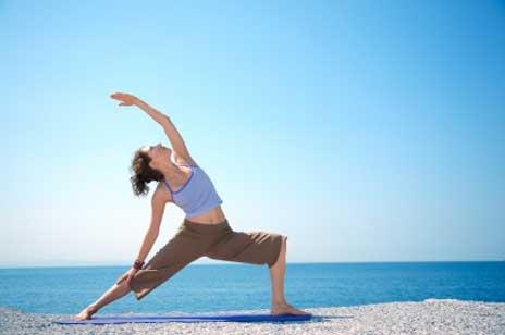 Gymnastik an frischer Luft wirkt doppelt gut