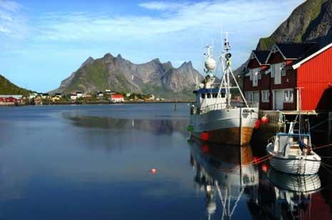 Norwegen, glasklare Fjorde, saubere Luft
