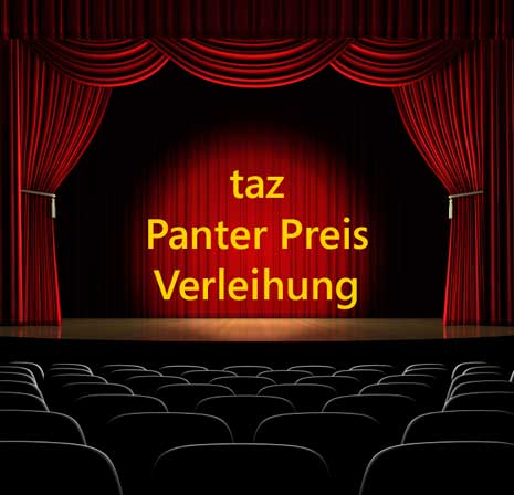 Preisverleihung taz Panter Preis 2009