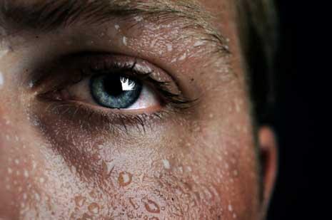 Schwitzen treibt Schadstoffe aus dem Körper