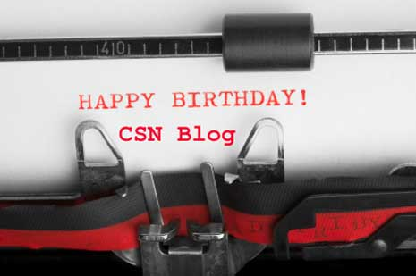 Happy Birthday CSN Blog