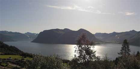 Norwegen ein Land mit viel sauberer Luft