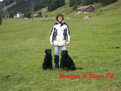 Corretta Danzer in Stern TV