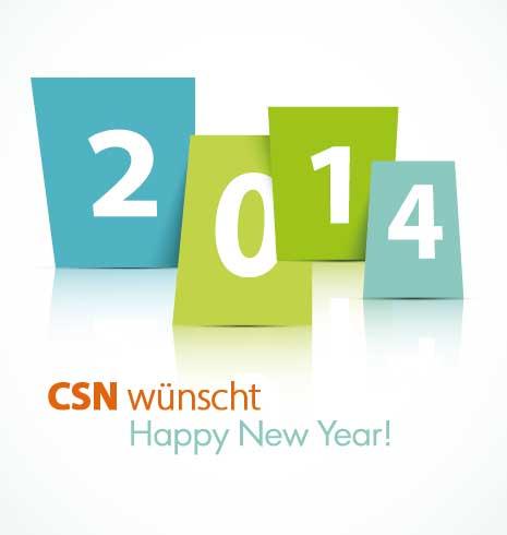 CSN wünscht allen Umweltkranken Happy New Year.