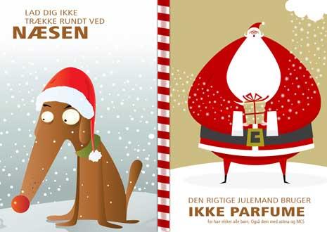 julekort med tekst